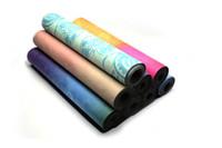 ingrosso tappetini per il fitness-Personalizzati personalizzati per il fitness yoga naturale gomma scamosciata stampa antiscivolo ad alta densità yoga mat all'ingrosso