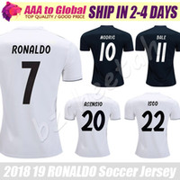 football collection 2018 - Real Madrid jersey 2019 Limited collection Ronaldo jersey MODRIC BENZEMA KROOS BALE football shirts 18 19 Cristiano Ronaldo Soccer jersey