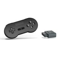 Wholesale snes wireless controller online - 8Bitdo SN30 Retro Set Wireless Bluetooth Controller Gamepad with Reciver Adapter For SNES SF C Support SFC Games PC