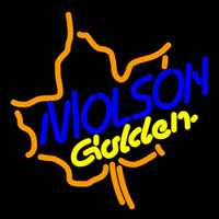 """Wholesale Molson Beer - Molson Golden Neon sign Custom Hand-crafted Real Glass Tube Beer Bar Store Motel KTV Club Pub Restaurant Display Neon Signs 16""""X16"""""""