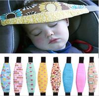 tiras de segurança venda por atacado-assento de segurança para bebês e suporte de cabeça do bebê ajustável cinto de fixação posicionador de carro posicionador de sono para cinta de carrinho de criança