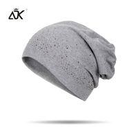 красивые шапки оптовых-ADK Cotton Girls Caps Beautiful Decoration High Quality Casual Fashion 2018 New  Skullies &Beanies #MZ769