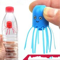 Wholesale spirit plastics resale online - Magical Jellyfish Funny Toys Kid Child Spirit Octopus Mix Colour Plastic Cute Lovely Cartoon Float Science Toy New Hot Sale ym V
