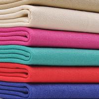 bricolaje textil al por mayor-50x145 cm Tela De Lona De Algodón De Color Para Sofá, Bolsas De Textiles, Diy Tela De Cortina Telas Decorativas Tissus Au Meter Tecidos