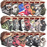 Wholesale Bicycle mask new men and women models windproof color bike mask outdoor sports cycling CS bike mask
