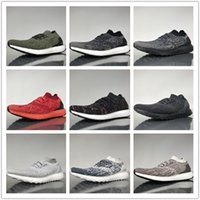 Wholesale red sea lighting - Wholesale Top Quality Ultra Boost Uncaged Oreo Deep sea Real Men's Couples Running Shoes Trainers Sport Footwear Women's Athletic Sneakers