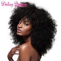ingrosso capelli di funmi di qualità-Mongola Afro riccio crespo dei capelli del Virgin del tessuto 3 pacchi 100% capelli umani naturali Bundles Lordo 8A Remy Curly Hair Extensions