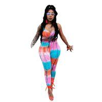 Wholesale women sheer yoga pants for sale - 2018 Two sets Printed Silk Legging girls Women spring autumn Warm Bootcut Stretchy Pants Nordic