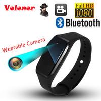 pixel cmos großhandel-Volemer SQ88 Smart Armbandkamera HD 1080P Mini Kamera Armband 14,2 Millionen Pixel Objektiv Kamera Tragbares Gerät Camcorder