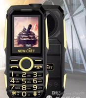 cep telefonu kulaklık girişi toptan satış-F999 6800MA darbeye dayanıklı 3.5mm kulaklık jakı güç bankası feneri SOS hızlı arama kablosuz FM radyo sağlam kıdemli cep telefonu