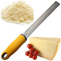 Wholesale multi slicer grater for sale - Group buy Fashion Eco Friendly Hot New Premium Lemon Zester Multi purpose Stainless Steel Shaver Grater Cheese Graters Slicer Cheese Tools CIQ