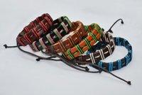 ingrosso nylon anchor bracelet-2018 Anchor Bracciale Donna Uomo Multistrato Navy Handmade Wristband del polsino Corda di nylon Infinity Anchor Bracelet Bangle Gift 30 Colori misti Intero