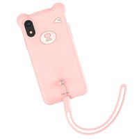 Wholesale cute iphone case online - Baseus For iPhone XR Case Cute Soft Silicone Back Cover Shockproof Phone Cases For iphone XS XS Max
