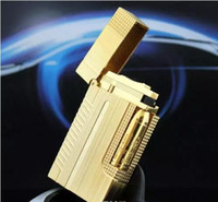 Wholesale Bullet Sound - Bullet head golden sound gas tlighter French brand Fashion free shipping