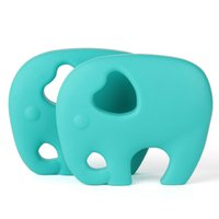 Wholesale toddler toys wholesale for sale - Colorful Silicone Baby Teether Toys Lovely Cartoon Big Elephant Teething Chew Baby Teether BPA Free Food Grade Silicone Toddlers Toy