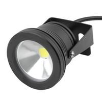 ingrosso 12v impermeabilizzano le luci di inondazione ip68-Nuovo 10W 12 V impermeabile LED luce di inondazione Fontana di luce subacquea Lavaggio Pond Fish Tank Acquario Luce Spot Lamp Illuminazione esterna