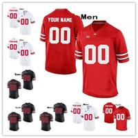 camisetas de baloncesto cosidas a medida al por mayor-Personalizado OSU Ohio State Buckeyes Cosido Cualquier Nombre Cualquier Número mens mujeres jóvenes 7 Dwayne Haskins Jr.College Basketball kids Jersey