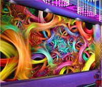 Wholesale pastoral wall murals resale online - 3d wallpaper custom photo mural Cool nightclub flower bar KTV tooling wall murals wallpaper for walls d