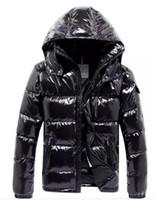 ünlü markalı ceket toptan satış-Erkek marka ceket yeni ünlü tasarımcı marka en kaliteli beyaz ördek erkekler aşağı ceket erkek Aşağı Parkas lüks sıcak giyim Aşağı Ceket mat