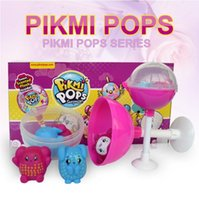 Wholesale color changing toys - 15*7.5cm Pikmi Pops Surprise Balls Unwrap Scented Color Changing Glittering Ball with Ramdon Plastic Figures Novelty Items CCA9495 288pcs