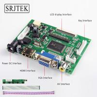 Wholesale vga lvds controller - Srjtek LCD TTL LVDS Controller Board HDMI VGA 2AV 50PIN for AT070TN90 92 94 AT090TN10 7300101463 VS-TY2662-V1 Driver Board