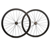 Wholesale road wheelset disc - Road disc barke wheelset 38mm depth Clincher tubular Asymmetrical carbon rims 25mm width disc cyclocross bike carbon wheels