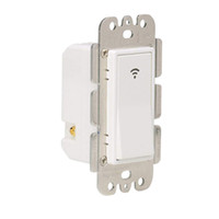 temporizadores de luz venda por atacado-Smart WiFi Light Switch Wireless Switch In-Wall controle remoto temporizador para o fã Luzes Compatível com Alexa Página inicial do Google, No Hub R