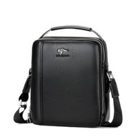 känguru handtaschen großhandel-Kangaroo Vintage Männer Umhängetasche Marke Umhängetasche Für Männer 2018 Messenger Bags Pu-leder Handtasche Feste Reisetaschen M111