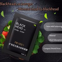Wholesale conk nose for sale - Group buy Hot Sell PILATEN Nose Blackhead Remover Mask Facial Minerals Conk Pore Cleanser Nose Black Head EX Pore Strip dhl free