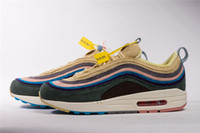 Wholesale Winter Footwear For Men - 2018 MARCH 97S SEAN WOTHERSPOON X 97 VF SW HYBRID RUNNING SHOES FOR MEN WOMEN 97 SPORTS SNEAKERS CASUAL FOOTWEAR WITH ORIGINAL BOX