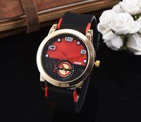 Wholesale watch skeleton rectangle men - 2016 New Luxury brand Skull sport Watches men Casual Fashion Skeleton quartz watch free shipping