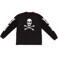 Wholesale Long Sleeve Skeleton Shirt - Long Sleeves T Shirts 18 Men Women 1a:1 Hip Hop Skeleton Skull
