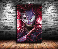 Wholesale amazing modern paintings resale online - The Venom Site Amazing Spider man Home Decor HD Printed Modern Art Painting on Canvas Unframed Framed