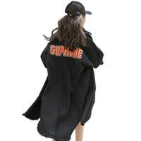 937c54fe6 Venta al por mayor 2018 nuevo otoño invierno caliente de las mujeres de  moda casual Denim Jacket Y136