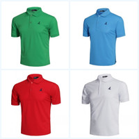 Wholesale outdoor quick drying t shirt resale online - Large Code Summer T Shirt Men With Multi Color Running Outdoor Sports Short Sleeve Polyester Fiber Quick Dry Ventilation Clothing fn jj