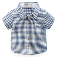 Wholesale Group Children - kid shirt for girl,free shipping plaid blouse for children ,clientmake group codeAYP