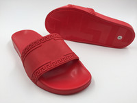Wholesale Lips Sandals - 2017 MEDUSAS beach slide Sandals Scuffs Mens Leather Rubber Massage Slippers lip-flops