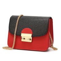 neue damen schwarze handtaschen großhandel-Fashion Designer Handtaschen Frauen Neue Marke Hand Graining Taschen Leder Damen Retro Kleine Umhängetasche Handtasche Weiblichen Beutel Rot Schwarz
