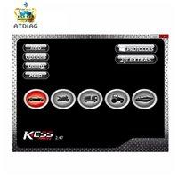 herramientas de ajuste de chip al por mayor-SW V2.47 EU Online Para Kess V2 V5.017 5.017 Ksuite 2.47 Unlimited Añadir más Protocolo OBD2 Manager Tuning Kit ECU Chip Tuning tool