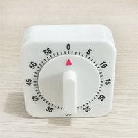 Wholesale multi alarms resale online - Cuisine Kitchen Timer Portable Fruits Reminding Device Plastic Square Mechanics Count Down Alarm Reminder High Quality zm Ww