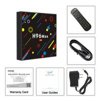 Wholesale Max 4g - [2018 Newest 4G 32G TV Box] EstgoSZ TV BOX H96 Max H2 RK3328 4K Android 7.1 Smart TV Box Support 2.4G 5G Dual Wifi 100M LAN BT 4.0