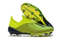 Wholesale soccer shoes size online - New ACE X Speedmesh Nemeziz FG Football Cleats Yellow Outdoor Football Shoes Tango PureControl Soccer Boots Size