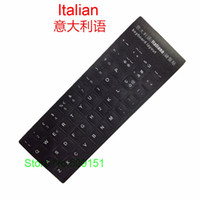 Wholesale tablet computer learning - 50 PCS Italian Letters Alphabet Learning Keyboard Layout Sticker For Laptop Desktop Computer Keyboard 10 inch Or Above Tablet PC