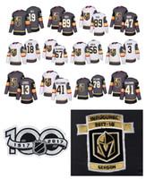 Wholesale custom nhl hockey jerseys - Custom NHL Vegas Golden Knights 92 Tomas Nosek 47 Luca Sbisa Jersey 41 Pierre-Edouard Bellemare 13 Brendan Leipsic Deryk Engelland Jerseys