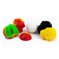SKULL Silicone container Nonstick Silicone Jars 3ML Wax container FDA Silicone Jars Dabs for smoking accessory