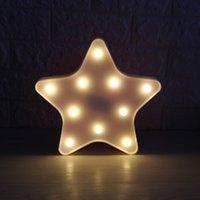 ingrosso luci di festa di notte-3D LED Night Light Romantico Tavolo da tavolo Night Light Star Beast Head Lampada decorativa per camera da letto Kids Children Room Office Holiday Gift