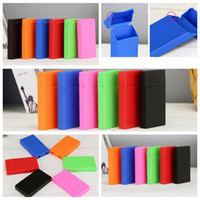 Colorful PP Material Cigarette Case Store Storage Box High Quality Exclusive Design Moisture-proof Anti Fall Deformation Protection Hot Sale