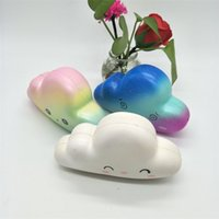 Wholesale photo gift business for sale - Cute Simulation Cloud Squishy Hand Squeezed Toy Jumbo Kawaii Bread Squishies Decompression Toys Photography Take Photo Prop rsa C