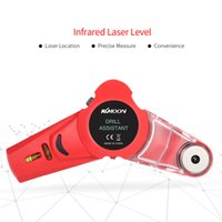 Wholesale laser diy tools for sale - KKmoon Mini Laser Level Drill Dust Collector Tool DIY Punch Locator with Horizontal and Vertical Cross Line laser Level leveling