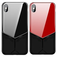 Wholesale iphone pink silicone case online - JOYROOM for Iphone XR Case Luxury Tempered Glass Soft TPU Back Cover Phone Cases for iPhone XS XS Max